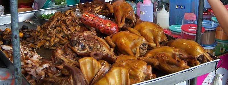 Thais gevogelte gerechten