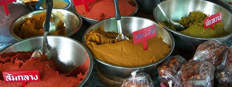 ingrediënten thaise keuken
