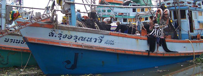 thaise vissersboten