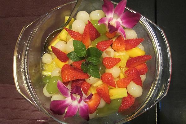 thaise exotische vruchtenschotel