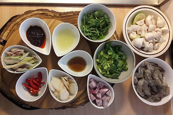 Vijf smaken Thaise keuken